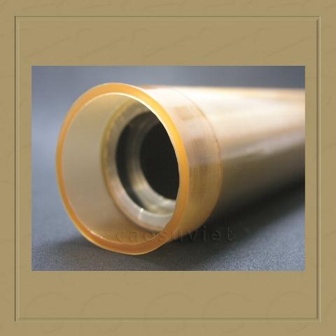 Corona rubber roller