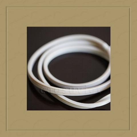 Rubber gaskets for food industry