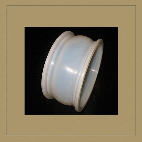 Food grade flexible silicone couplings