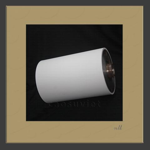 Varnish roller for paper coating