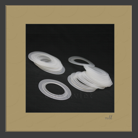 Food contact rubber gaskets