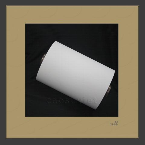 Trục silicone tráng keo trên giấy